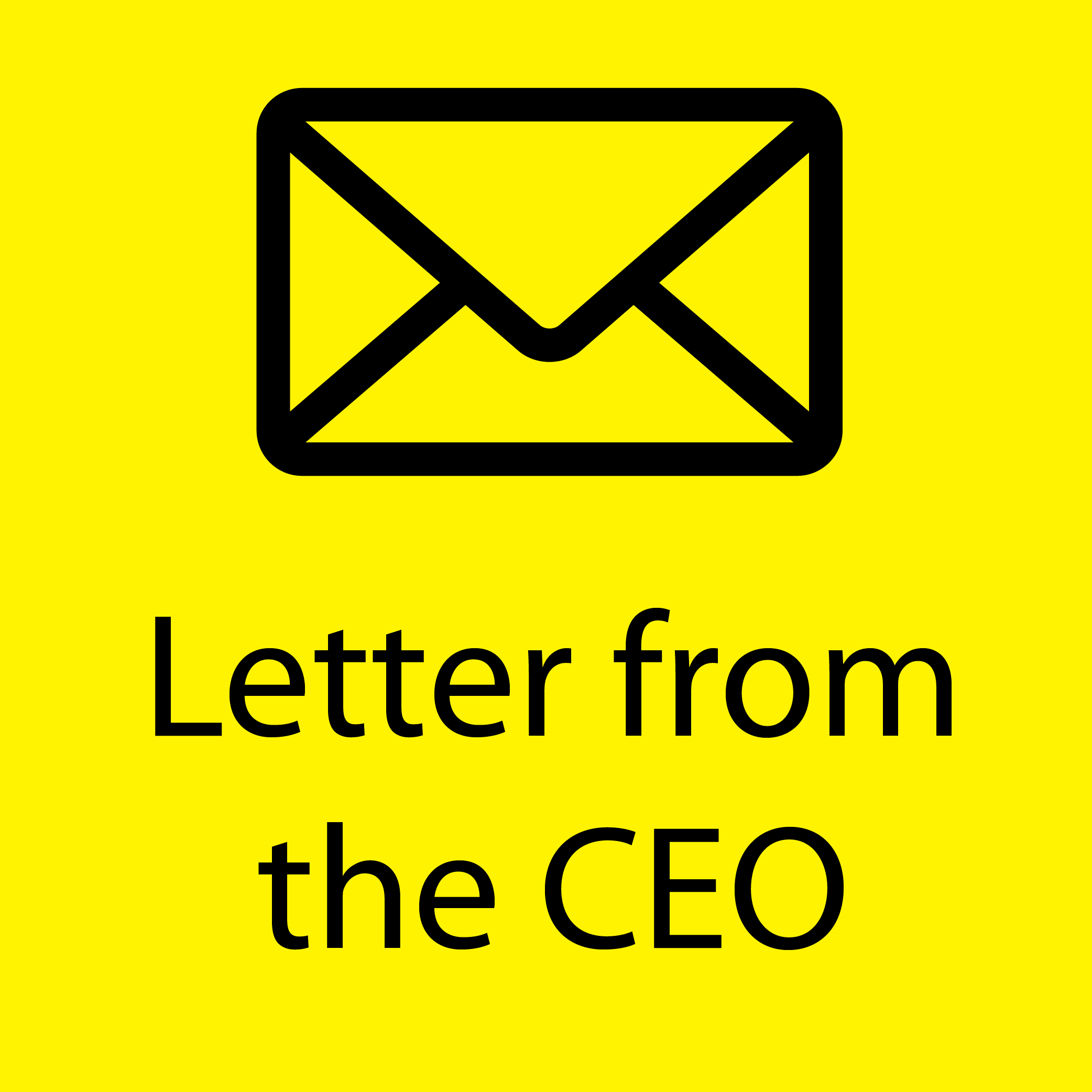 Letter from CEO yellow-01